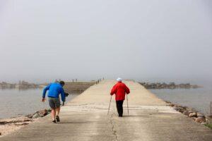 Matsi sadama puhkekohas video filmimine